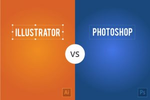 illustrator vs photoshop